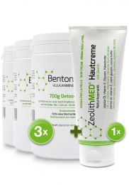 Bentonite MED® detox powder 700g, Medical device
