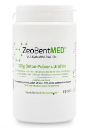 ZeoBent MED® detox ultrafine powder 120g, Medical device
