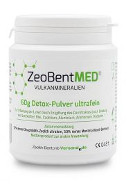 ZeoBent MED® detox ultrafine powder 60g, Medical device