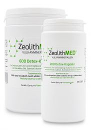 Zeolite MED® 800 detox capsules saving packs, Medical devices