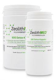 Zeolite MED® 800 detox capsules saving packs, Medical devices