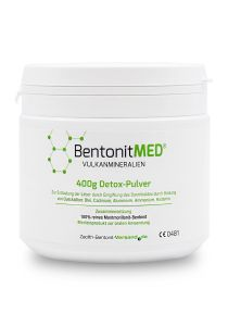 Bentonite MED® detox powder 400g, Medical device