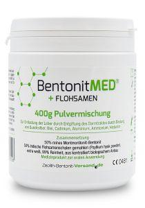 Bentonite MED® + Psyllium seed, 400g powder mixture, Medical device
